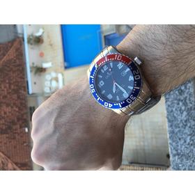 Relógio Croton Blue Dial Dive 300m Promoção