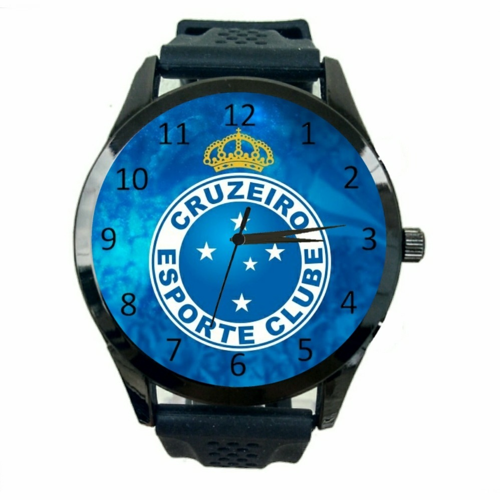67c579fad3 relógio cruzeiro feminino club barato de futebol esporte t13. Carregando  zoom.