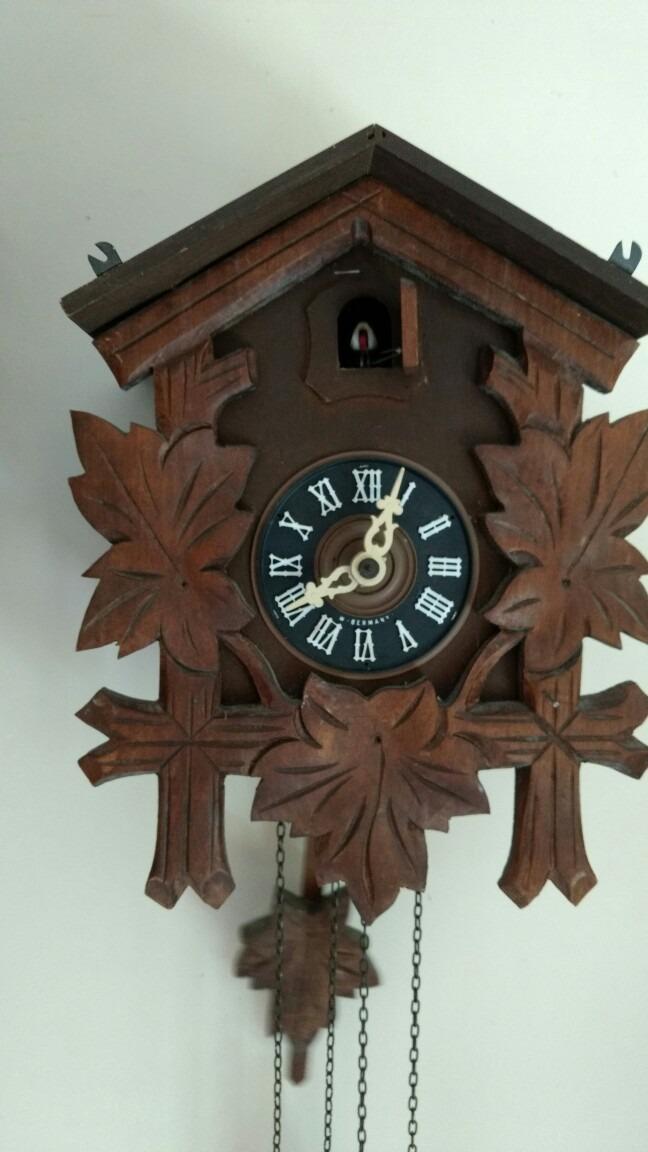 d72fdd4af5c relógio cuco alemão mecânico august schwer. Carregando zoom.