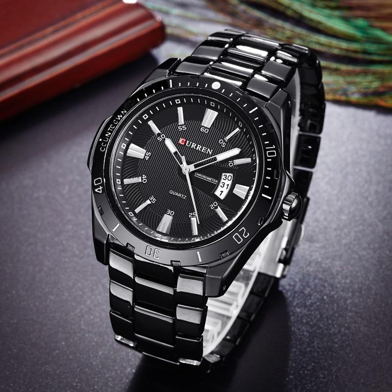 91d34b9d355 relógio curren 8110 luxo masculino barato brind frete gratis. Carregando  zoom.