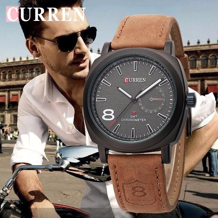 f2e23357657 Relógio Curren 8139 Masculino Luxo Esportivo Original Barato - R  60 ...