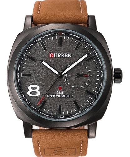 relógio curren  masculino 2449