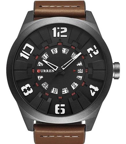 relógio curren  masculino 2561
