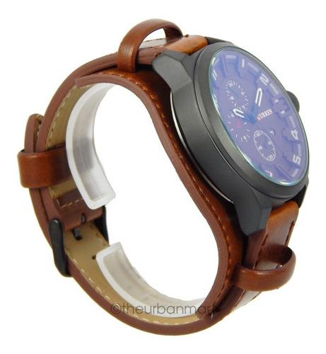 relógio curren masculino