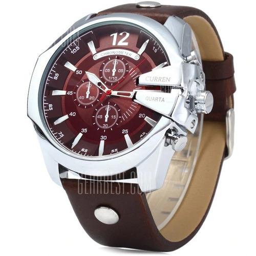 2da3e2f63a8 Relógio Militar Curren Masculino Luxo Frete Grátis Barato - R  139 ...