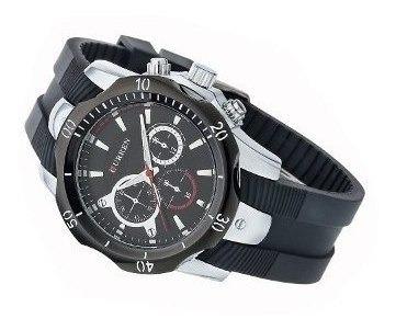 relógio curren original 8163 luxo esportivo novo barato