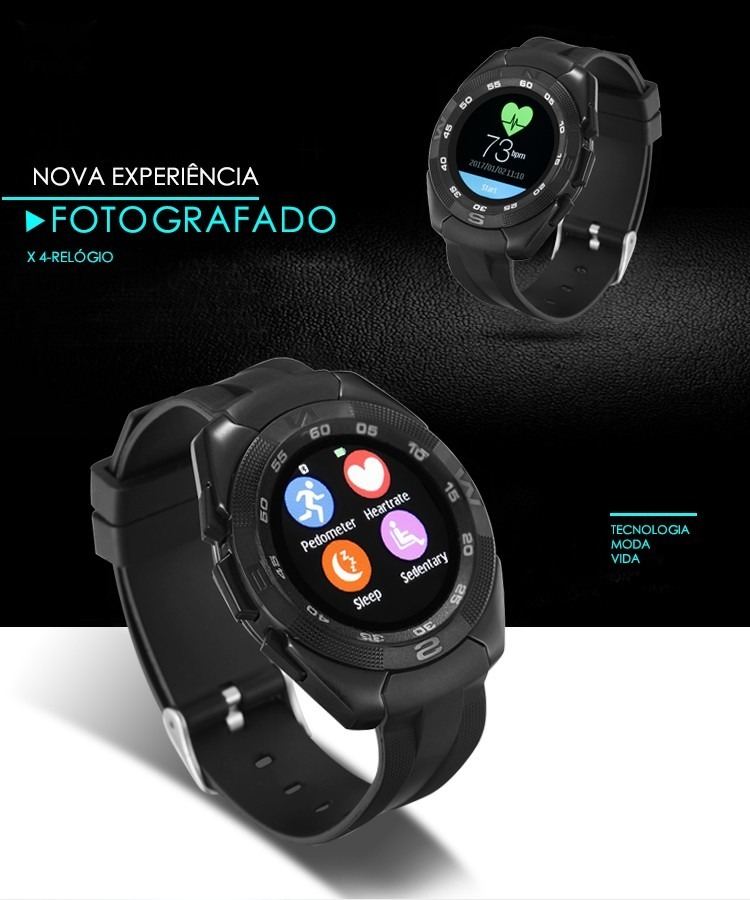 47276c5e9fe relógio curren x4 original smartwatch inteligente bluetooth. Carregando  zoom.