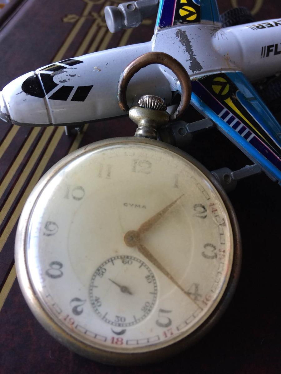 6f6ee2e460f Relógio Cyma De Bolso (restauro) Canaldorelogio 039 - R  235