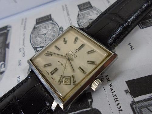 relógio cyma navistar automático raro modelo coleção