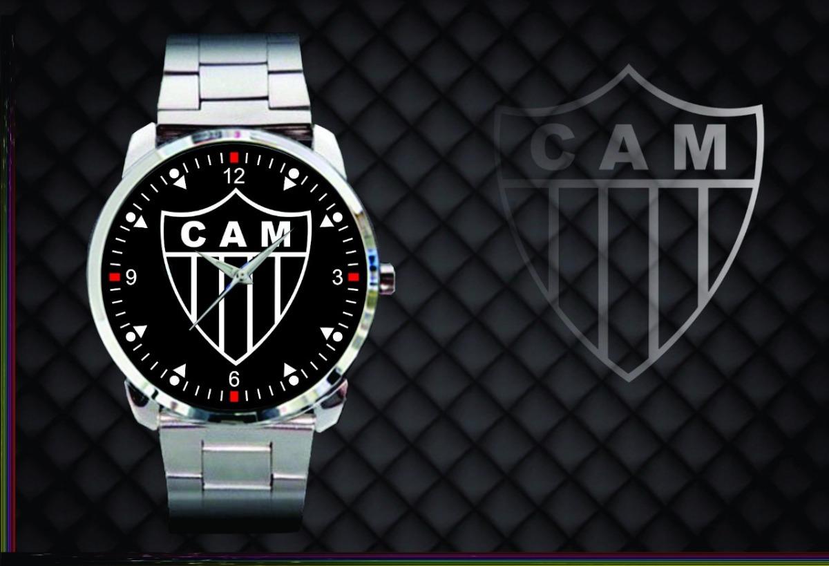 47c4598bf9e18 relógio d pulso personalizado futebol clube atletico mineiro. Carregando  zoom.