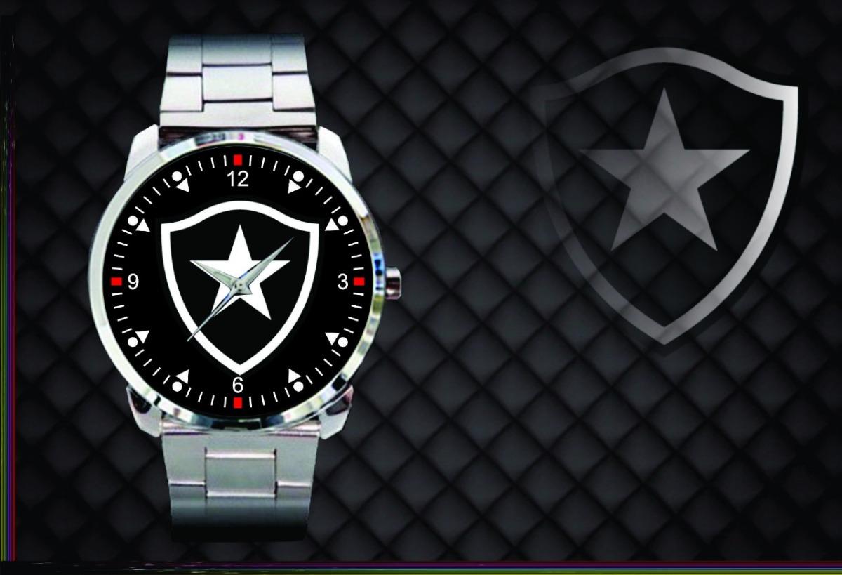 9eb1e644624 Relógio D Pulso Personalizado Futebol Clube Botafogo - R  84