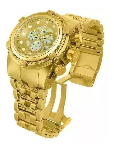 relógio dcd5874 invicta bolt zeus gold 12738 feminino saldão