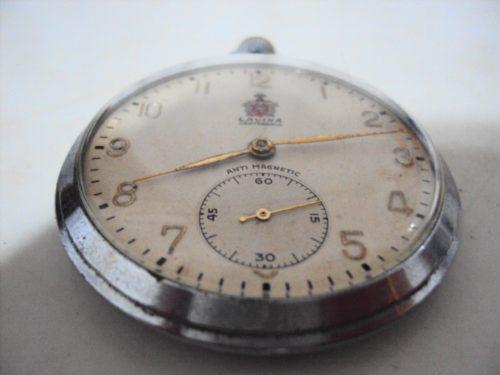 8d61129d61c Relógio De Bolso Antigo Suíço Lavina Centenário - R  885