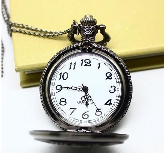 f5e3614b484 Relógio De Bolso Aviador - Estilo Antigo - R  50