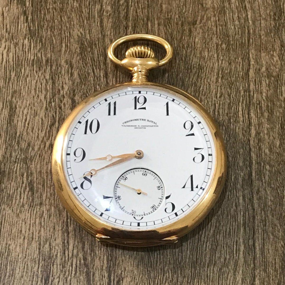 7e117eef0cf relógio de bolso em ouro 18k vacheron   constantin. Carregando zoom.