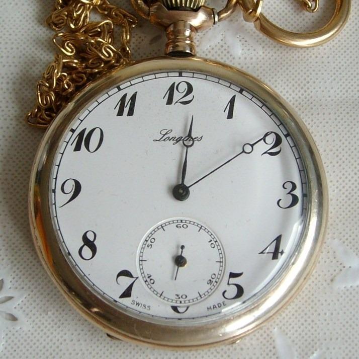 d9a6425d09a Relógio De Bolso Longines