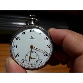 Relógio De Bolso Omega 15 Jewels - Década 1910 Coleção