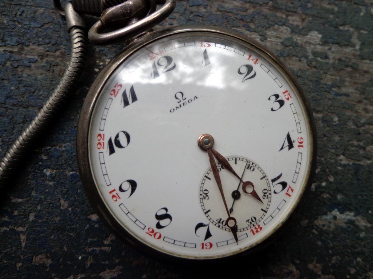 33130d43a07 Relógio De Bolso Omega