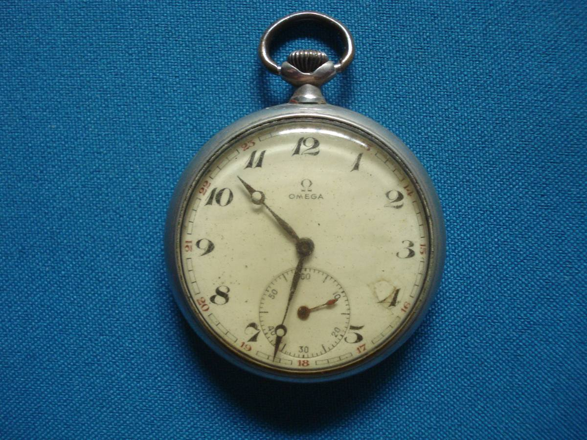 28379e86c1c relógio de bolso omega antigo raridade - funcionando. Carregando zoom.