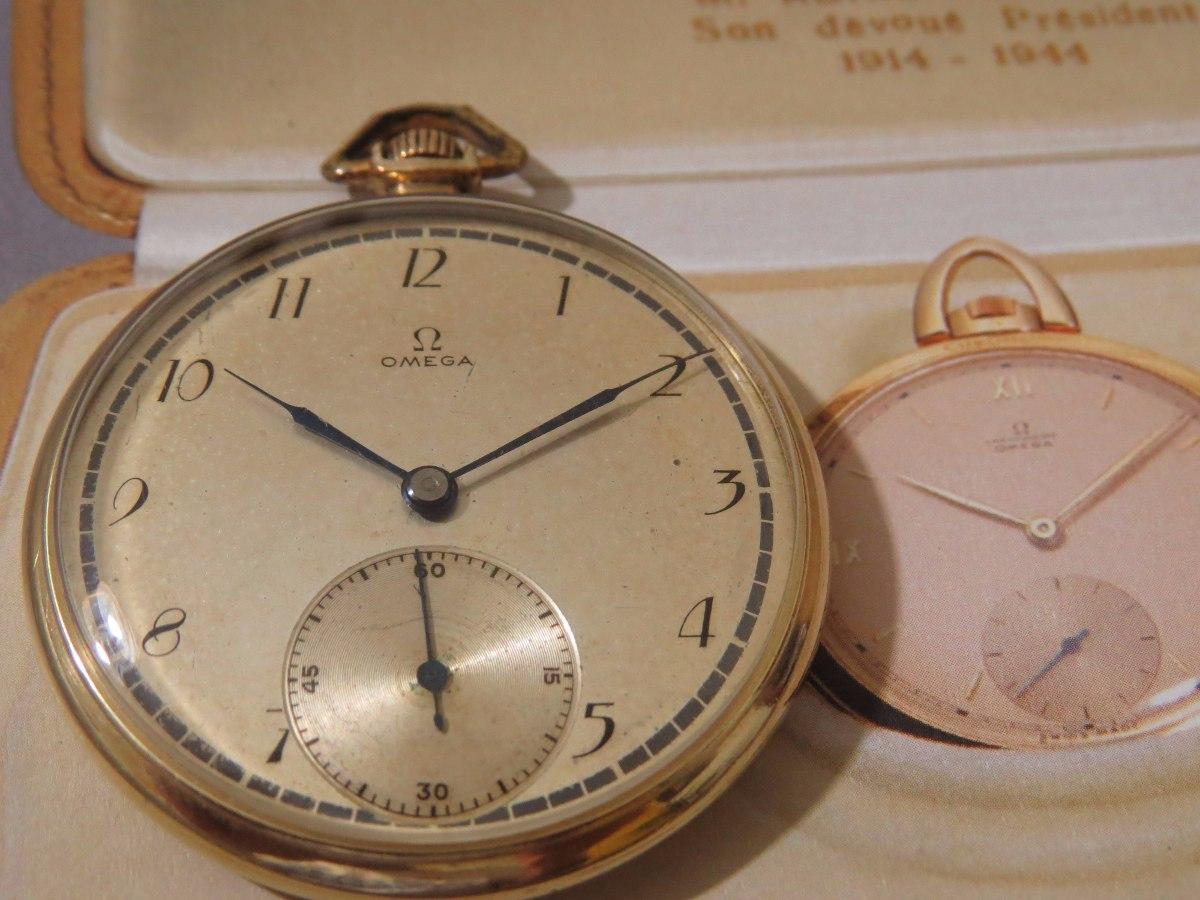 2039bd936c5 relógio de bolso omega perfeito corrente antigo p. ouro. Carregando zoom.