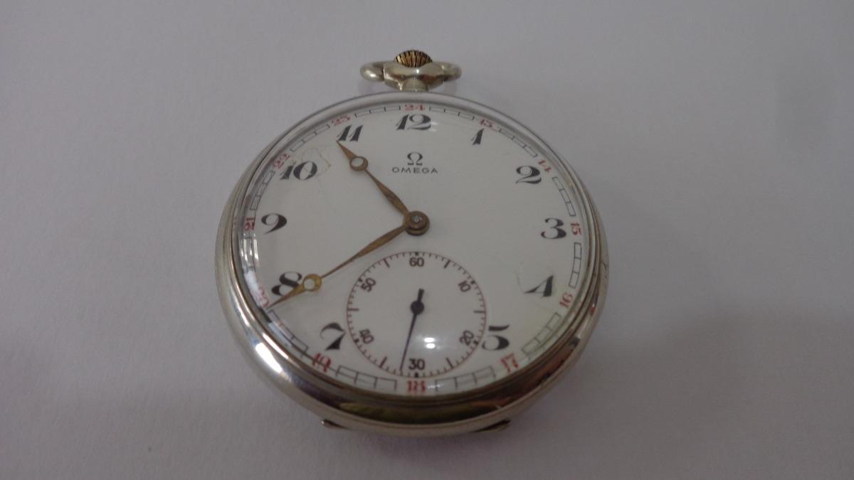 e7185253c4f relógio de bolso suiço marca ômega. Carregando zoom.