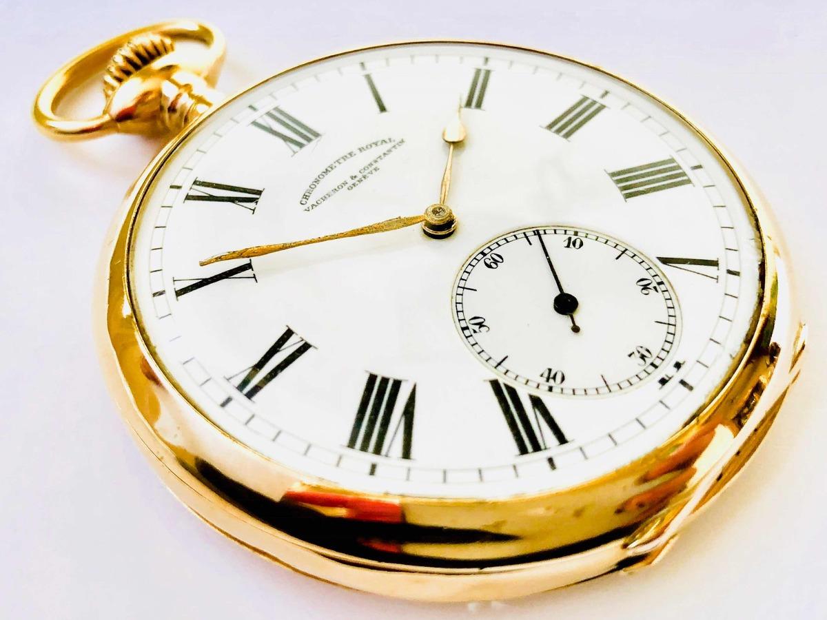 944b49032ef relógio de bolso suíço vacheron constantin 22 linhas ouro 18. Carregando  zoom.