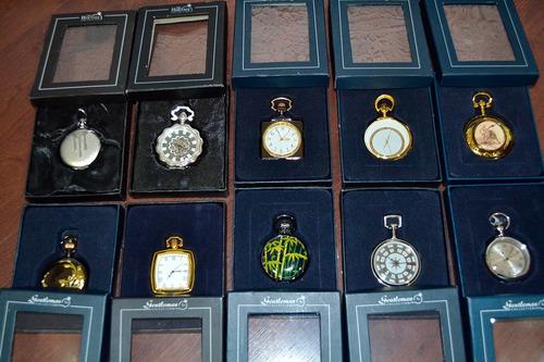 relógio de bolso - total com 10 relógios - único dono