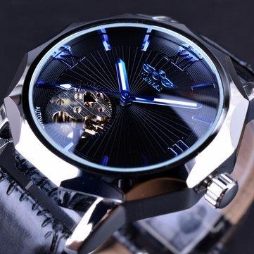 0f1019da706 Relógio De Esqueleto Transparente Automático Gmt 964 - R  100