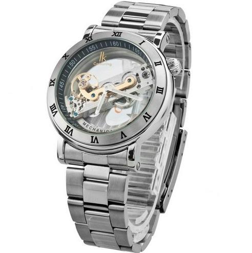 c42f07a1803 Relógio De Luxo Automático Especial - Ik Colouring Skeleton - R  419 ...