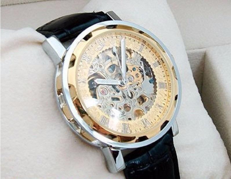 bde4ba06591 Relógio De Luxo Automático Esqueleto Timi Frete Grátis! - R  119