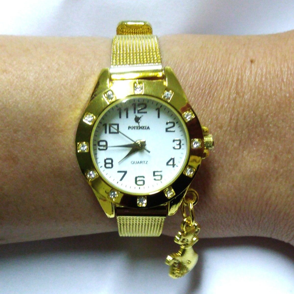 a94b8c49f35 relogio de luxo barato feminino dourado super oferta !! Carregando zoom.