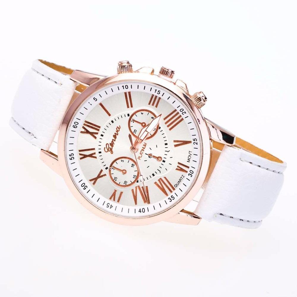 8899aa8a35c Relógio De Luxo Geneva Feminino + Relógio Yazole Masculino - R  54 ...