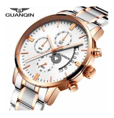relógio de luxo guanqin original importado c/ caixa