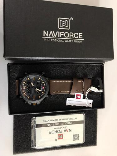 relógio de luxo,  naviforce original