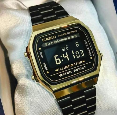 relogio  de luxo original acompanha caixa casio oferta