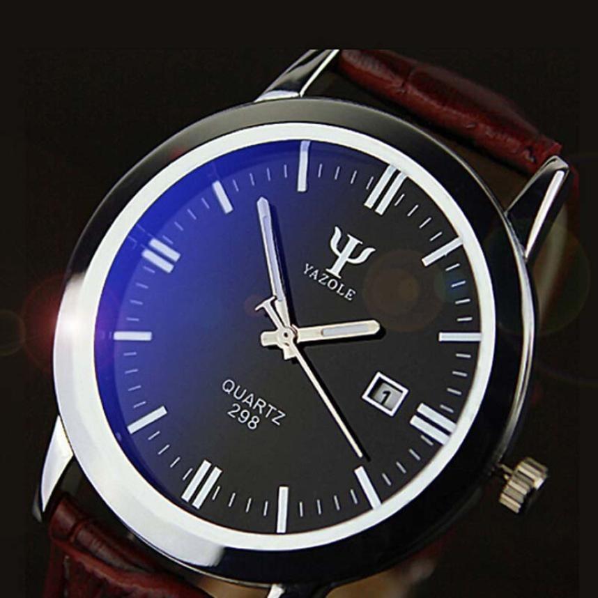 1633edb7f3b relógio de luxo social masculino yazole. Carregando zoom.