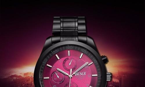 relógio de marca de luxo masculino bosck em aço inoxidável