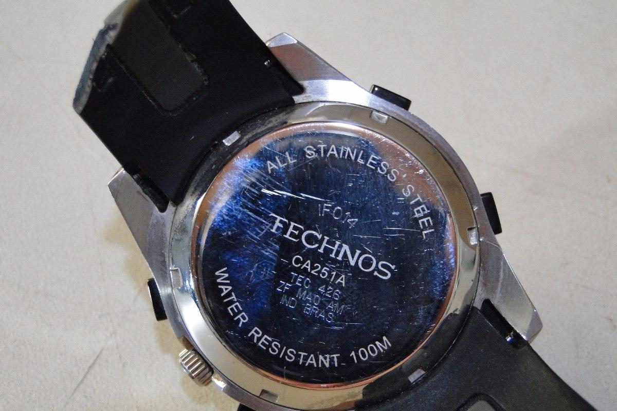 457b98d6fef relógio de mergulho technos - para reposição de peças. Carregando zoom.