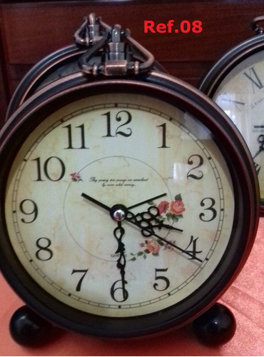 relógio de mesa ,parede retro vintage sem tic tac