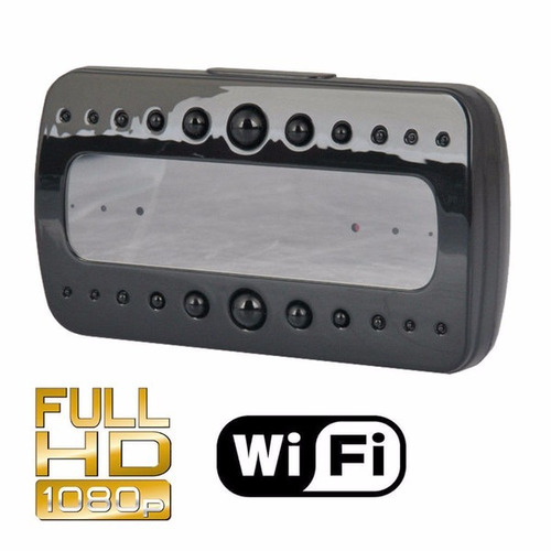 relógio de mesa relógio da câmera de visão noturna ip wi-fi