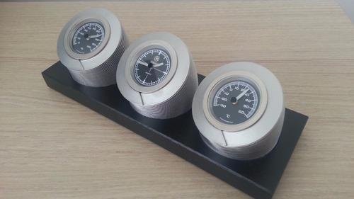 relógio de mesa yamaha (+temperatura/umidade) item exclusivo