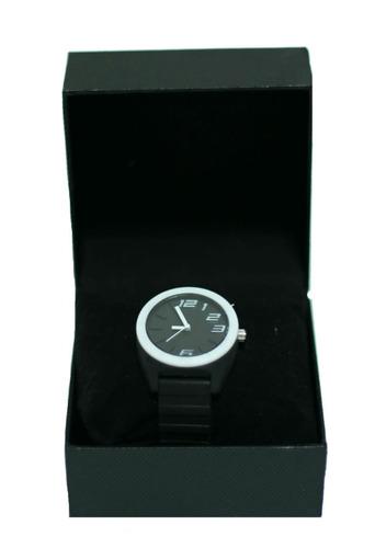relógio de mulher colorido feminino pulseira de borracha