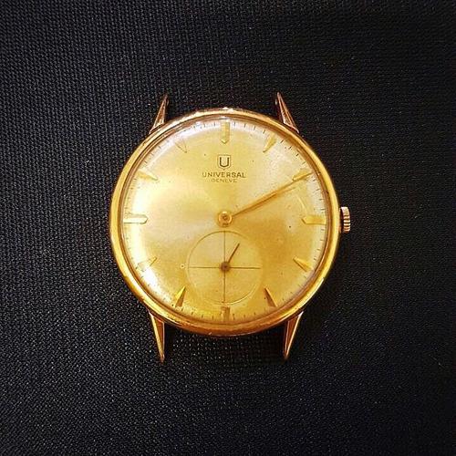relógio de ouro