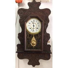 Relógio De Parede Ansônia Capelinha Novo C/ Garantia