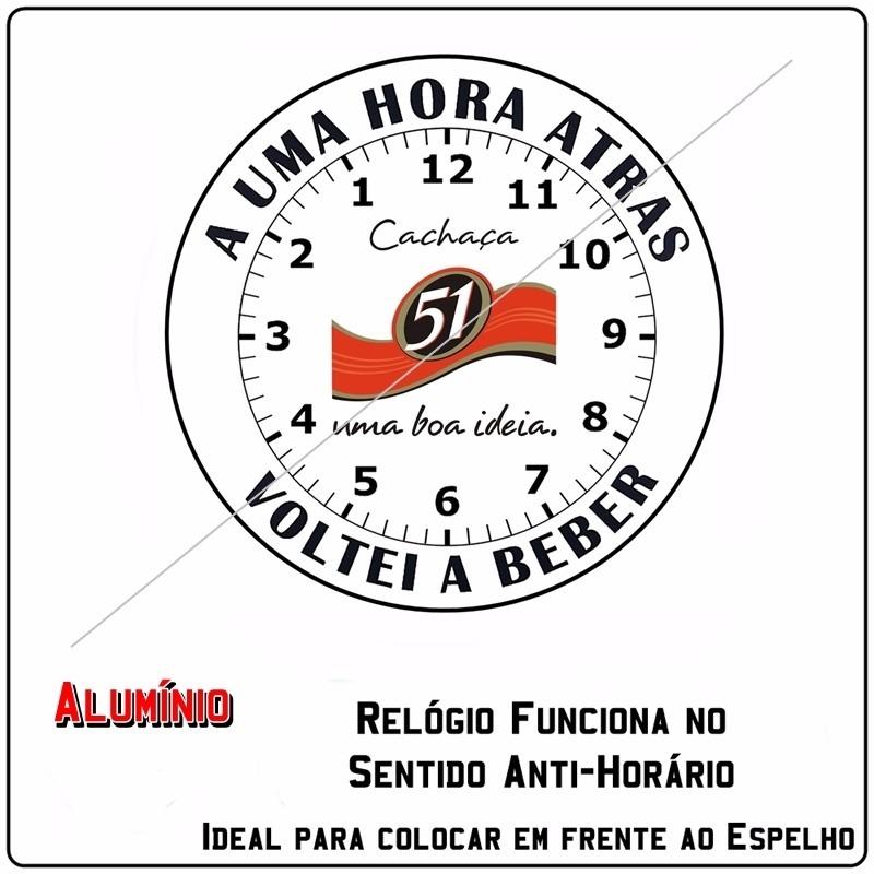 3d570c8204f relógio de parede anti horário produzido em alumínio. Carregando zoom.