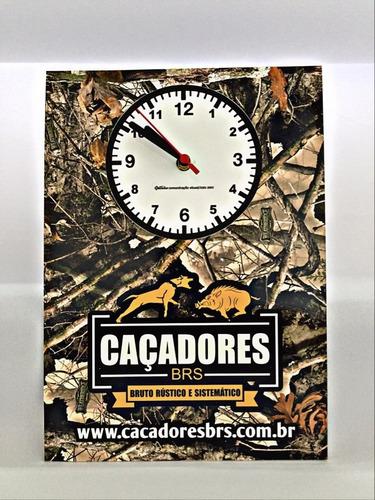 relógio de parede caçadores brs