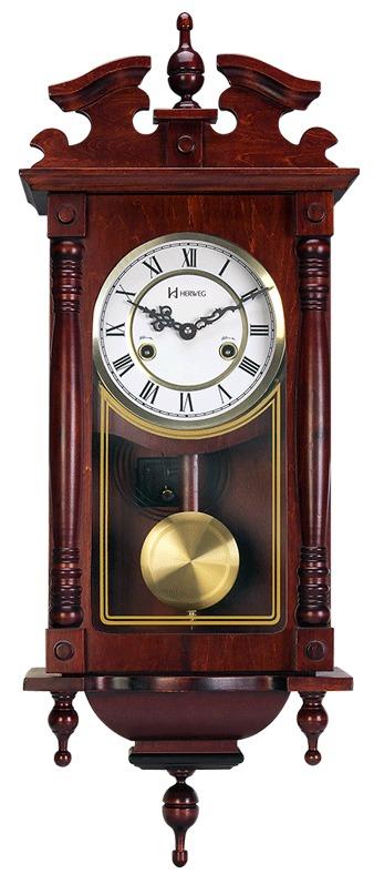 1c7af37359863 Relógio De Parede Carrilhão A Cordas Som Pêndulo Herweg 5353 ...