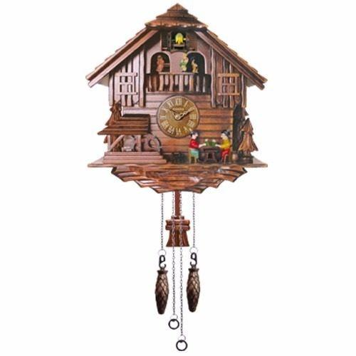 relógio de parede cuco madeira m3