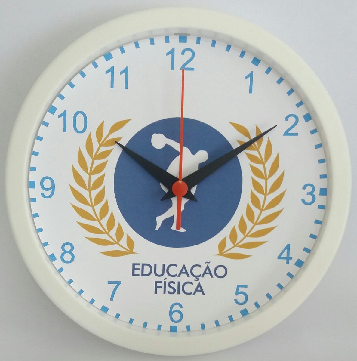 cbf8d0995e Relógio De Parede - Educação Física - Clássico 24 - R  29