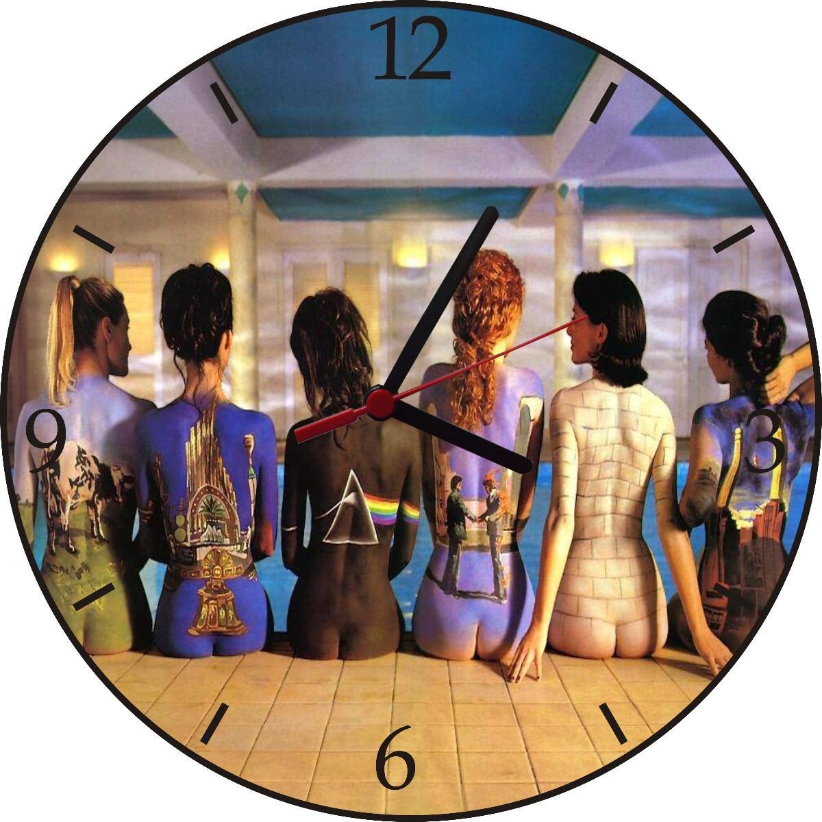 Relogio De Parede Em Disco De Vinil Pink Floyd Capas